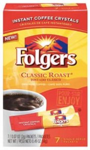 folgers packets