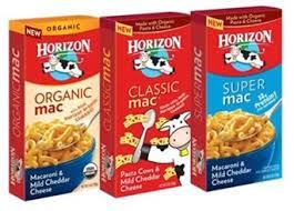 horizon mac and cheese
