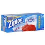 ziploc freezer
