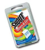 Shout Wipe & Go