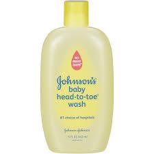 Johnson's Head to Toe Baby Wash