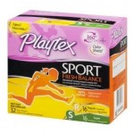 TWO RESET $2/1 Playtex Sport printable coupons = $2.99 at CVS with sale, coupon and Extra Bucks!