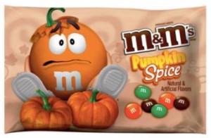 Pumpkin Spice M&M