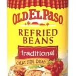 Target: Old El Paso Seasoning Packets and Refried Beans only $.34 each and Soft Tortilla Taco Boats only $.93 each!