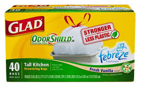 Glad Odor Shield Trash Bags