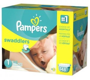 Pampers Swaddlers Box