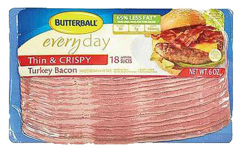 graphic about Butterball Coupons Turkey Printable named Refreshing $0.55/1 Butterball Turkey Bacon printable coupon