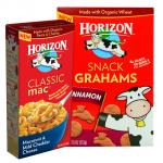 FIVE RARE New Horizon printable coupons – Snacks, Mac & Cheese Milk & Cheese!