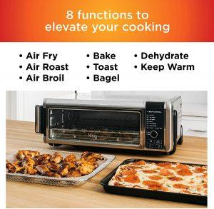 Amazon 199 99 Ninja Foodi Digital Fry Convection Oven Toaster
