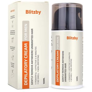 Amazon 7 49 Blitzby Hair Removal Cream For Men Reg 14 99